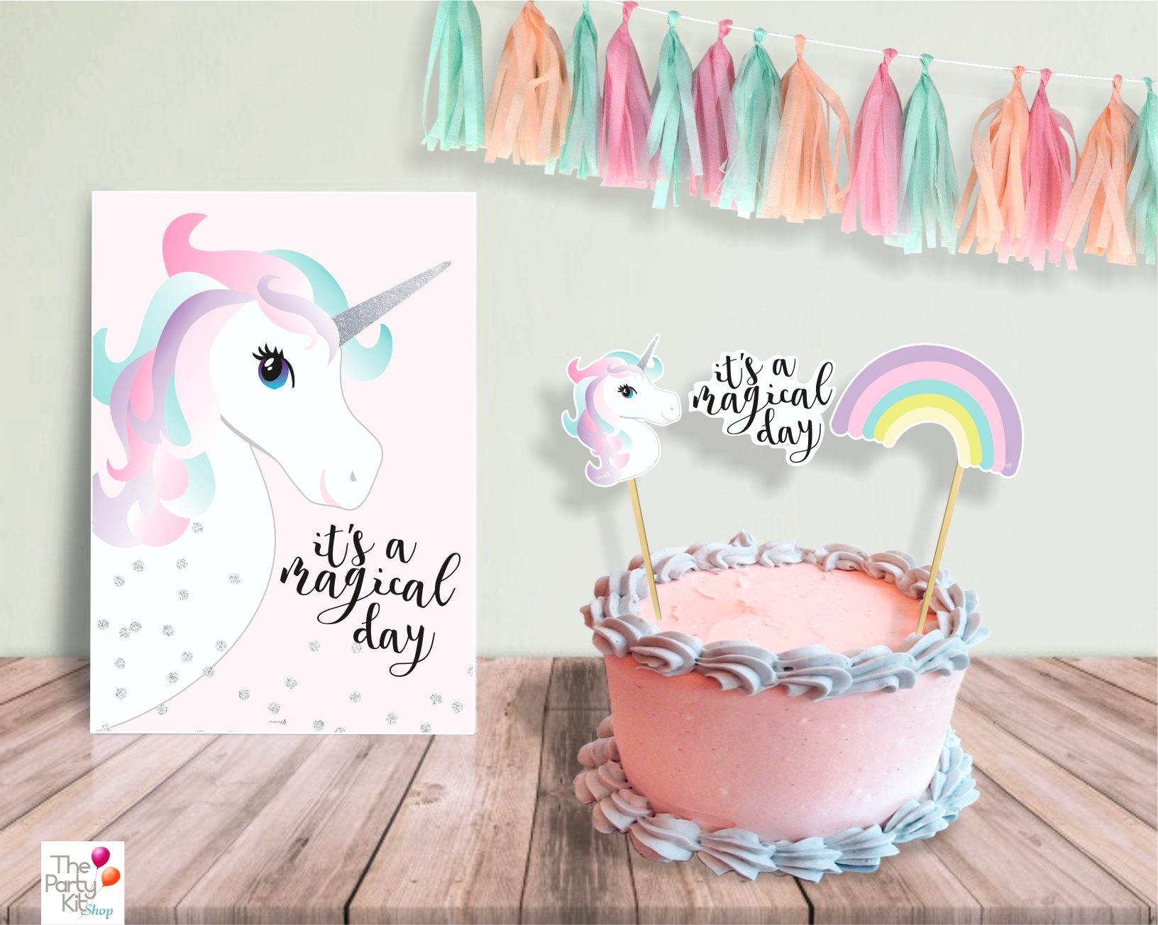 unicorn table sign