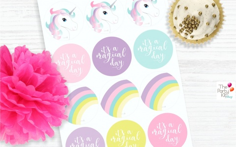 Unicorn Party Printables
