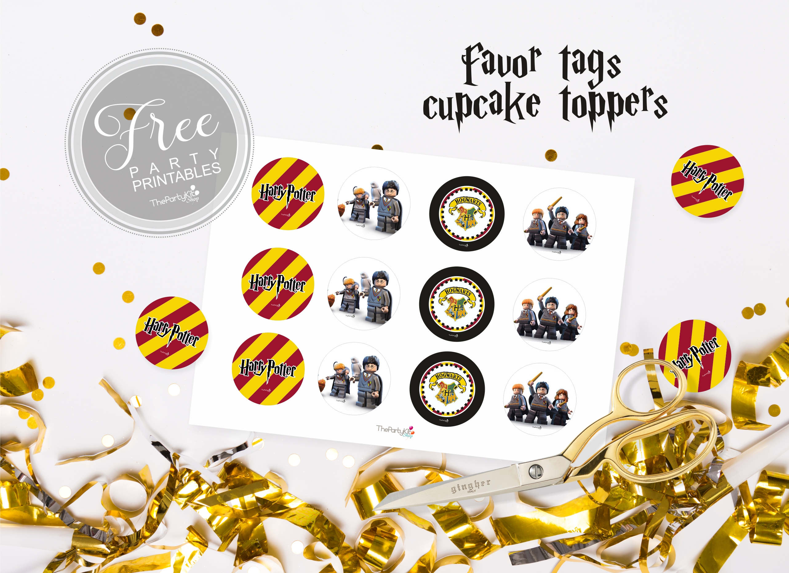 Harry Potter Free Party Printables Thepartykitshop