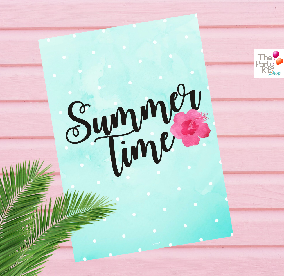 Summer Printable Signs