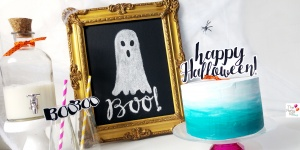 happy halloween free printable topper