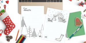printable letters to Santa templates