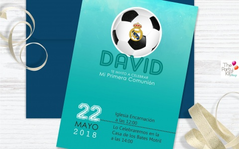 kit real madrid invite