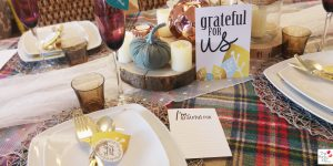 "Thanksgiving printable collection ""Grateful for Us"""
